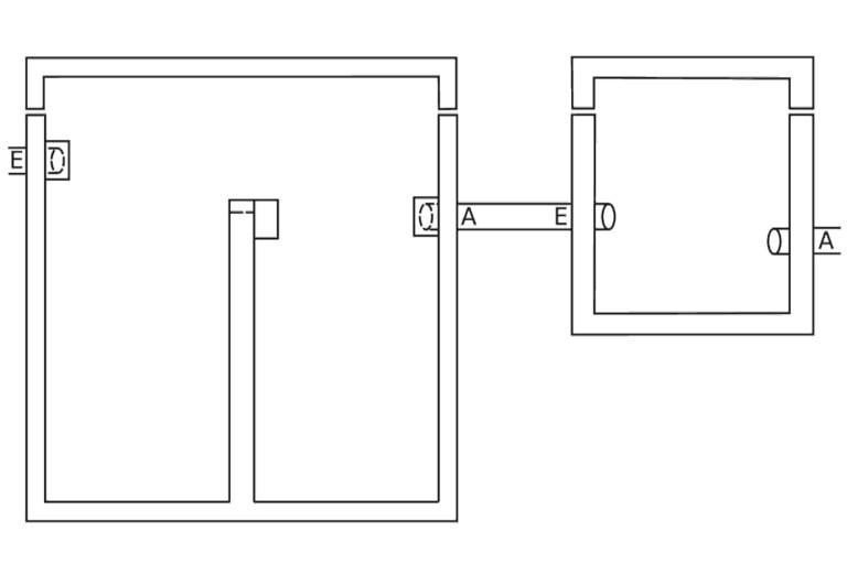 Fettabscheider GRAFE-Kompakt - für tierische & pflanzliche Fette